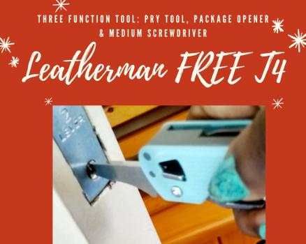 Chiếc Leatherman FREE T4 Của Tôi